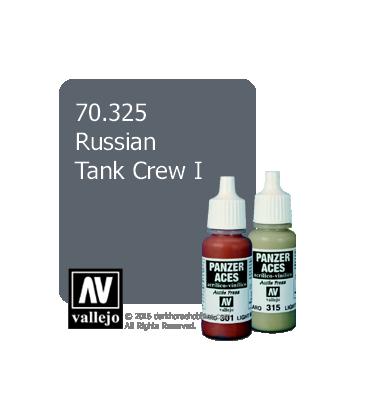 Vallejo Model Color: Panzer Aces - Russian Tank Crew I (17ml)