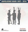 10mm Peninsular War (1807-1814): Portuguese Limbers (with mule team)