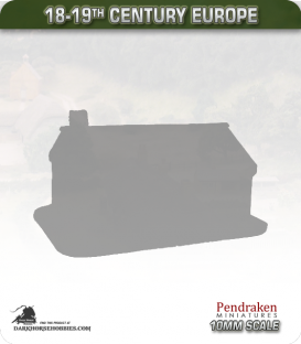 Western Europe (10mm): 18-19c Small House (type 1)