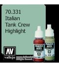 Vallejo Model Color: Panzer Aces - Italian Tank Crew Highlight (17ml)