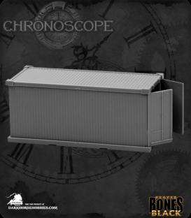 Chronoscope Bones Black: 20' Shipping Container