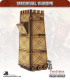 10mm Medieval (Late European): Siege Tower (with crew)