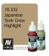 Vallejo Model Color: Panzer Aces - Japanese Tank Crew Highlight (17ml)