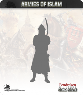 10mm Medieval Crusades: Islamic Heavy Knights with Lances