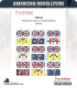 10mm American Revolution: British Flags