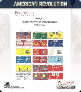 10mm American Revolution: American Flags