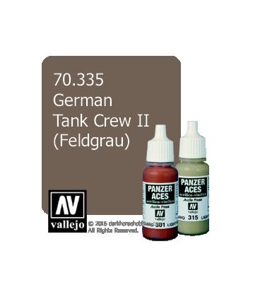 Vallejo Model Color: Panzer Aces - German Tank Crew II - Feldgrau (17ml)