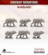 10mm Fantasy Monsters: Saddled Bears