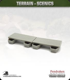 Terrain Scenics (10mm): Pontoon Bridge