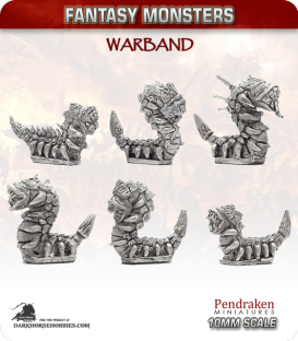 10mm Fantasy Monsters: Giant Worms
