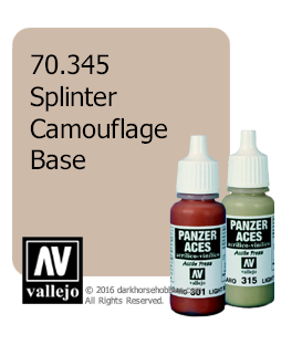 Vallejo Model Color: Panzer Aces - Splinter Camouflage Base (17ml)