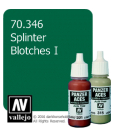 Vallejo Model Color: Panzer Aces - Splinter Blotches I (17ml)