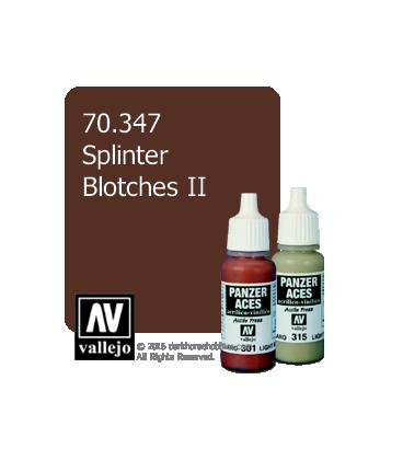 Vallejo Model Color: Panzer Aces - Splintar Blotches II (17ml)