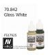 Vallejo Model Color: Gloss White (17ml)