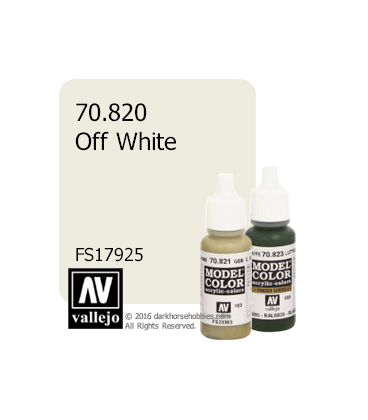 Vallejo Model Color: Off White (17ml)
