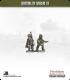 10mm World War II: French - Dragons Portes with FM24/29 LMG - Walking