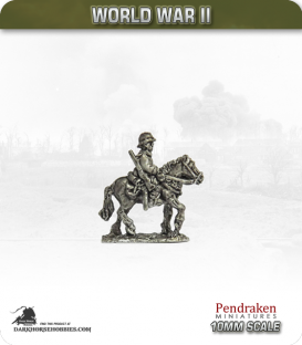 10mm World War II: French - Chasseurs a Cheval (mounted) pack