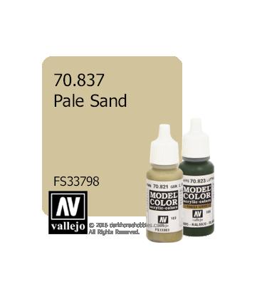 Vallejo Model Color: Pale Sand (17ml)
