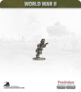 10mm World War II: French - Motorcycle Troops (dismounted) pack