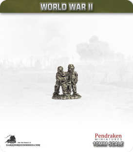 10mm World War II: French - Tank Crews (baled out) pack