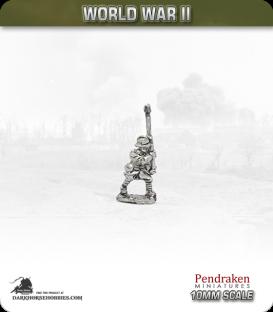10mm World War II: French - Anti-tank Rifle - Walking