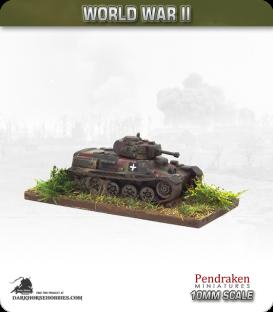 10mm World War II: Hungarian - 38M Toldi I Light Tank