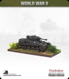 10mm World War II: Hungarian - 38M Toldi II Light Tank