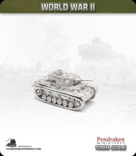 10mm World War II: German - Panzer III Ausf G/H - 50mm L/42