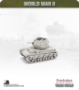 10mm World War II: German - Flakpanzer IV 'Ostwind'