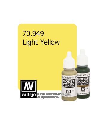 Vallejo Model Color: Light Yellow (17ml)