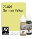 Vallejo Model Color: German Yellow (17ml)