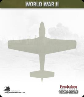 10mm World War II: Messerschmitt Me 163 Komet