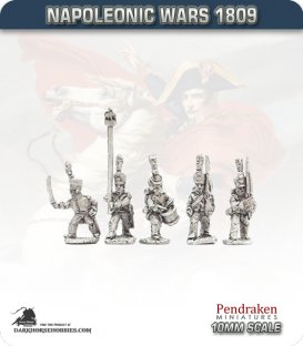 10mm Napoleonic Wars (1807-14): French Young Guard Tirailleur Chasseurs/Voltigeurs