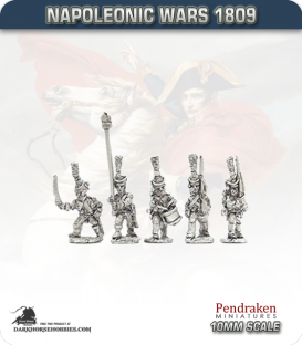 10mm Napoleonic Wars (1807-14): French Young Guard Tirailleur Grenadiers/Tirailleurs