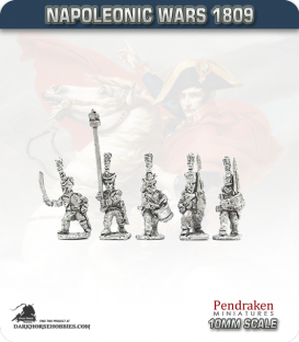 10mm Napoleonic Wars (1807-14): French Middle Guard Fusilier Grenadiers