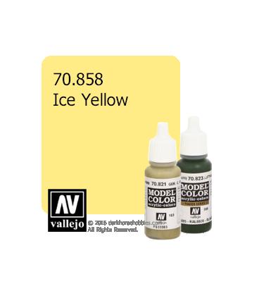 Vallejo Model Color: Ice Yellow (17ml)