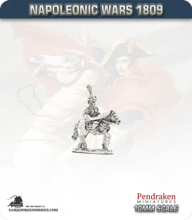 10mm Napoleonic Wars (1807-14): French Young/Middle Guard Mounted Officers