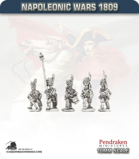 10mm Napoleonic Wars (1807-14): French Old Guard Grenadiers