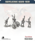 10mm Napoleonic Wars (1807-14): French 4pdr Guns (guard horse crew)