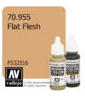 Vallejo Model Color: Flat Flesh (17ml)