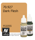 Vallejo Model Color: Dark Flesh (17ml)