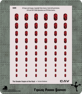 CAV: Greater Empire of the Rach Emblems