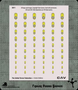 CAV: United Terran Federation Emblems