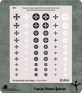 CAV: Grand Order of the Temple Tactical Emblems