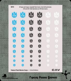 CAV: Terran Federal Fleet Marine Corps Emblems