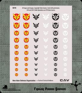 CAV: New Adon Defense Organization Emblems