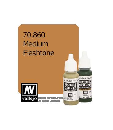 Vallejo Model Color: Medium Fleshtone (17ml)