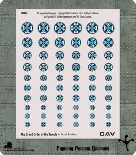 CAV: Grand Order of the Temple Emblems
