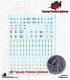 10mm: Warning Signs Decal Sheet - 03