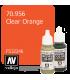 Vallejo Model Color: Clear Orange (17ml)